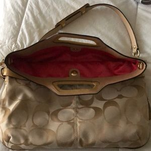 Coach shoulder/tote bag